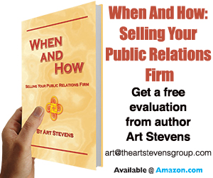 When and How: Selling Your PR Firm