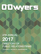 2017 O'Dwyer's Directory of PR Firms