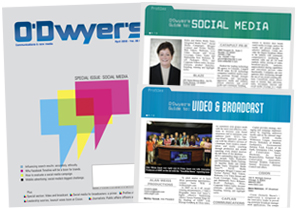 O'Dwyer's April Social Media PR & Broadcast Media Svcs. Magazine
