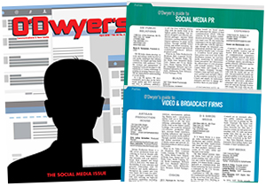 O'Dwyer's Apr. '16 Broadcast Svcs. & Social Media PR Magazine