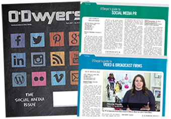 O'Dwyer's Apr. '17 Social Media & Broadcast Services Magazine