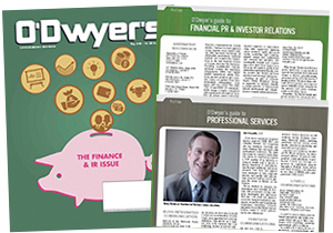 O'Dwyer's Financial PR/IR & Professional Services PR Magazine