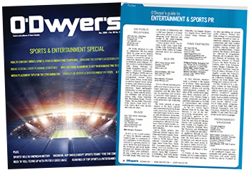 O'Dwyer's Dec. '18 Sports & Entertainment PR Magazine
