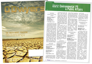O'Dwyer's February Environmental PR & PA Magazine