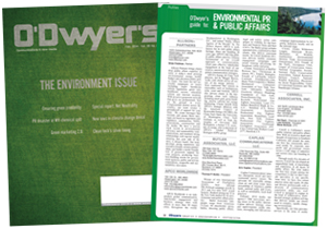 O'Dwyer's Feb. '14 Environmental PR & Public Affairs Magazine