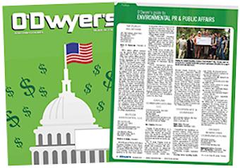 O'Dwyer's Feb. '17 Environmental PR & Public Affairs Magazine
