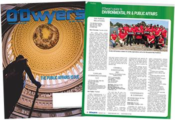 O'Dwyer's Feb. '18 Environmental PR & Public Affairs Magazine
