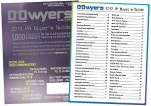 O'Dwyer's PR Buyer's Guide