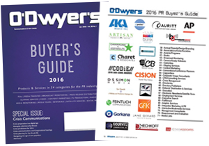 O'Dwyer's 2014 PR Buyer's Guide