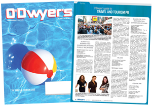 O'Dwyer's July Travel & Tourism PR Magazine
