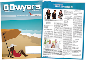 O'Dwyer's Travel PR Magazine