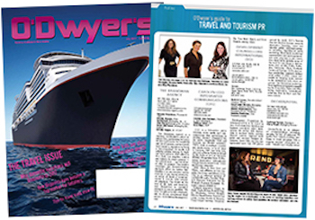O'Dwyer's July '17 Travel & Tourism PR Magazine