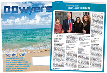 O'Dwyer's July '19 Travel & International PR Magazine