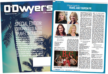 O'Dwyer's July '20 Travel & International PR Magazine