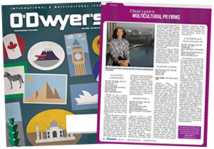 O'Dwyer's June '16 Int'l & Multicultural PR Magazine