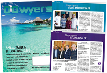 O'Dwyer's June '16 Travel & International PR Magazine