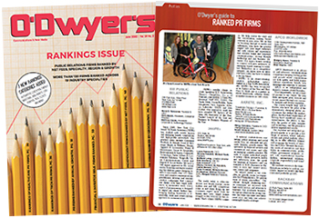 O'Dwyer's Jun. '20 PR Firm Rankings Magazine