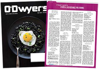O'Dwyer's Mar. '17 Food & Beverage PR Magazine