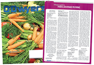 O'Dwyer's Mar. '18 Food & Beverage PR Magazine
