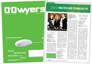 O'Dwyer's Nov. '12 Technology PR Magazine
