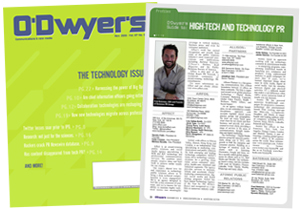 O'Dwyer's Technology PR Magazine