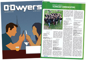 O'Dwyer's Nov. '15 Technology PR Magazine
