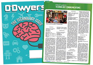 O'Dwyer's Nov. '16 Technology PR Magazine