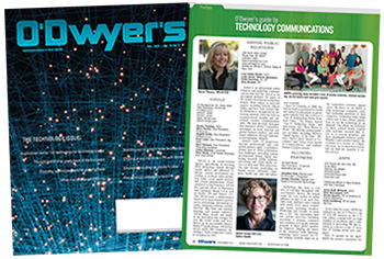 O'Dwyer's Nov. '17 Technology PR Magazine