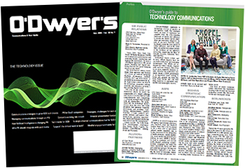 O'Dwyer's November Technology PR Magazine
