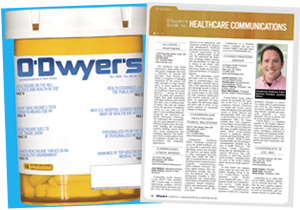 O'Dwyer's Oct. '12 Healthcare & Medical PR Magazine