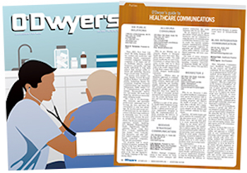 O'Dwyer's October Healthcare PR Magazine