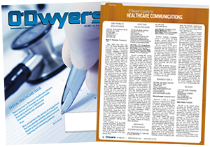 O'Dwyer's Oct. '17 Healthcare & Medical PR Magazine