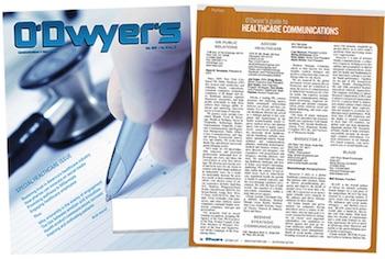 O'Dwyer's Oct. '17 Healthcare & Medical PR Magazine