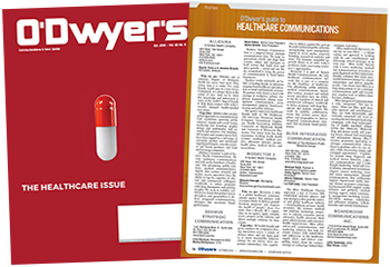 O'Dwyer's Oct. '18 Healthcare & Medical PR Magazine