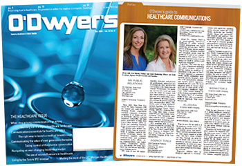 O'Dwyer's Oct. '19 Healthcare & Medical PR PR Magazine