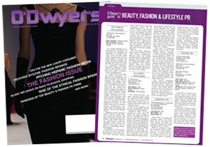 O'Dwyer's September Beauty & Fashion PR Magazine