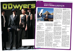 O'Dwyer's Sep. '15 Beauty, Fashion & Lifestyle PR Magazine