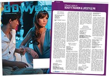 O'Dwyer's September Beauty & Fashion PR Magazine