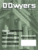 O'Dwyer's Aug. '20 Financial PR/IR and Prof. Svcs. PR Magazine