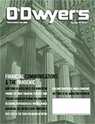 O'Dwyer's Aug. '20 Financial PR/IR and Prof. Svcs. PR Magazine