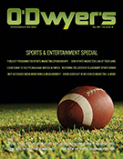 O'Dwyer's Dec. '17 Enterteinment & Sports PR Magazine
