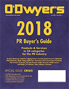 O'Dwyer's Jan. '18 PR Buyer's Guide & Crisis Communications Magazine
