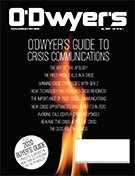 O'Dwyer's Jan. '20 PR Buyer's Guide & Crisis Communications Magazine