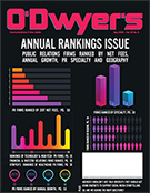 O'Dwyer's May '18 PR Firm Rankings Magazine