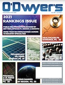 O'Dwyer's May '21 PR Firm Rankings Magazine