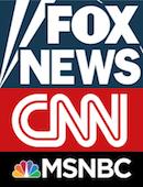 Fox News, CNN & MSNBC