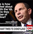 Bob McDonald compares VA wait lines to Disneyland