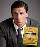 Ryan Lochte & Pine Bros. cough drops