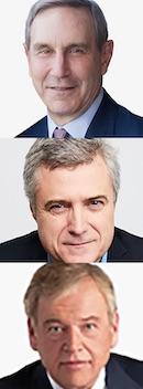 CEOs Richard Edelman, Mark Read & John Wren