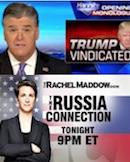Sean Hannity & Rachel Maddow